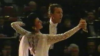 Heritage Classic 1995 - International Ballroom Demo: John Wood & Anne Lewis (Slow Foxtrot)